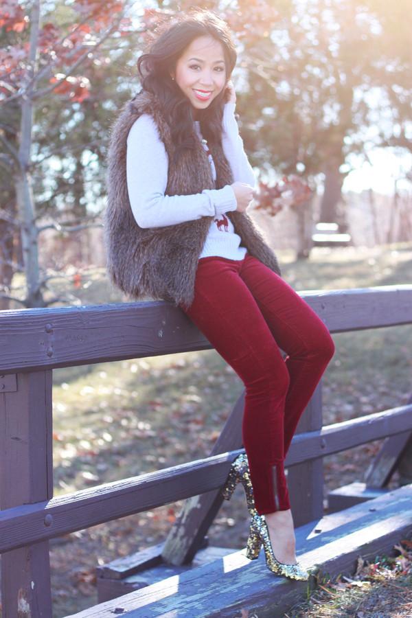 i am khatu sweater shoes jacket pants jewels