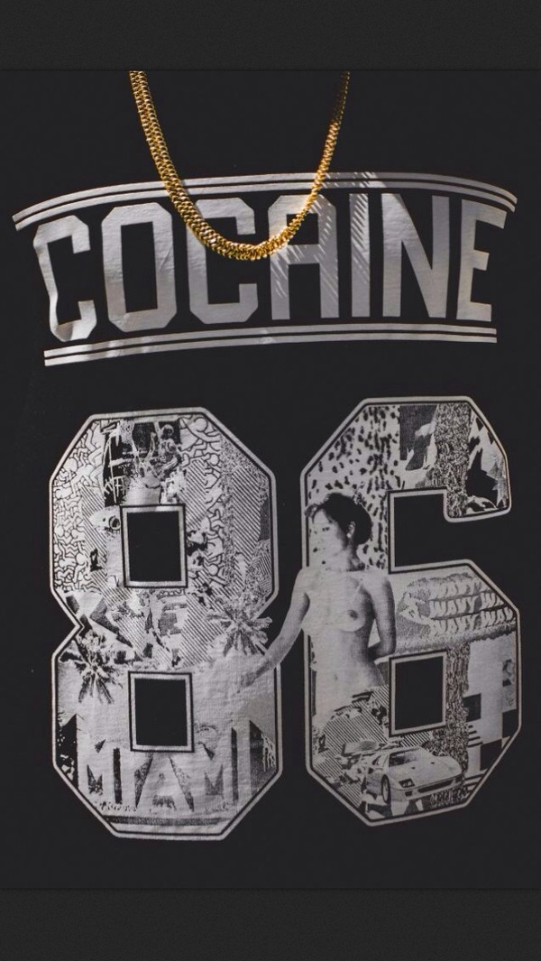 shirt black white number tee number drugs tumblr gold black t-shirt black and white t-shirt cocaine thug life