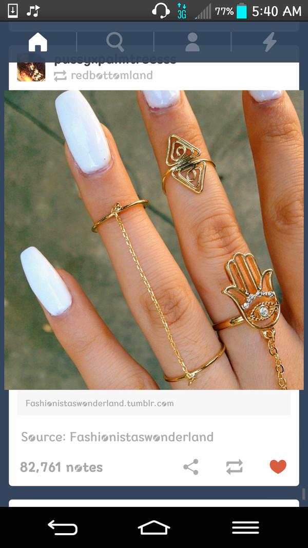 jewels ring gold hamsa