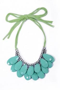 Layered Teardrop Necklace