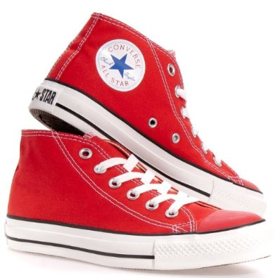 Amazon.com: Converse Chuck Taylor All Star Mid Top Sneakers 130244F: Shoes