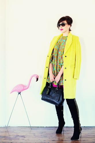 dress shoes bag sunglasses coat keiko lynn