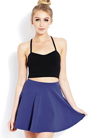 Basic Skater Skirt | FOREVER21 - 2000070550