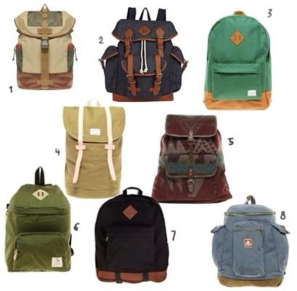 bag backpack backpack hipster indie boho bohemian mens backpack