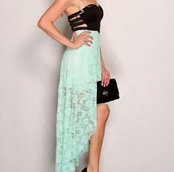 black pastel pastel dress pastel blue dress lace lace dress blue lace dress open back dresses open back