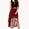 High-low chiffon skirt   forever21 - 2058092243