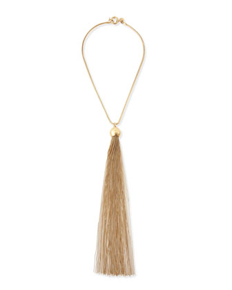 MARC by Marc Jacobs Big Tassel Necklace