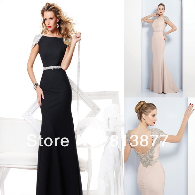 Aliexpress.com : Buy Free shipping 2013 Newest Elegant Dazzing Sexy Beaded Cap Sleeves Sash Mermaid Evening Dresses from Reliable cap women suppliers on No.1 SuZhou Wonderful Evening& wedding dress store