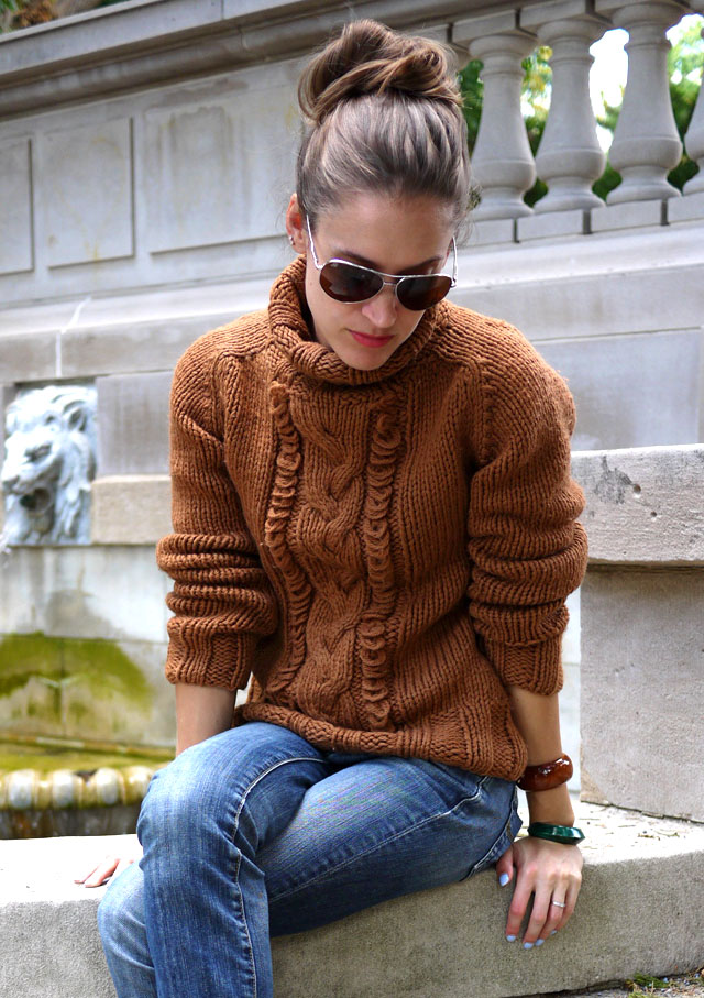My Fair Vanity: Chunky Knit Sweaters for Fall {eco-friendly, vintage, and organic}