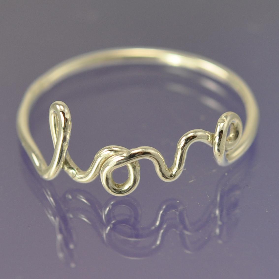Love ring. Silver   Chris Parry - Handmade Jewellery - Designer / Maker