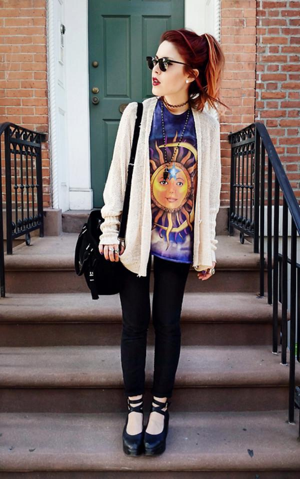 sunshine t-shirt gold moon