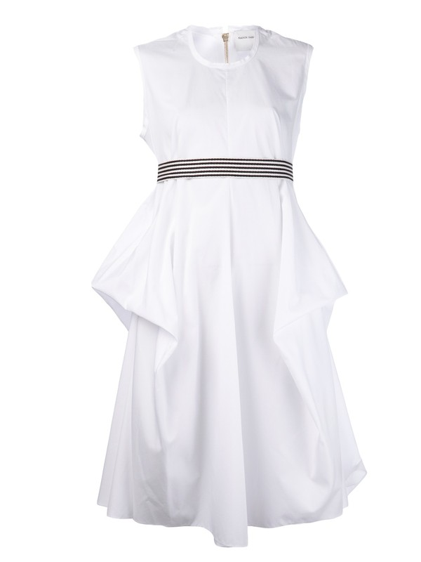 dress maison rabih kayrouz white dress