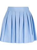 Alice olivia 'leah' Leather Mini Skirt - Russo Capri - Farfetch.com