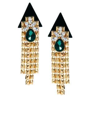 ASOS | ASOS Rocket Jewel Earrings at ASOS