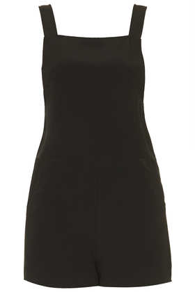 *Pinafore Style Playsuit by Oh My Love - Clothing Brands  - Clothing  - Topshop