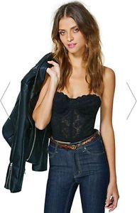 Nasty Gal Lace Crop Bralet Never Worn 8/10 Asos Topshop Missguided Bloggers   eBay