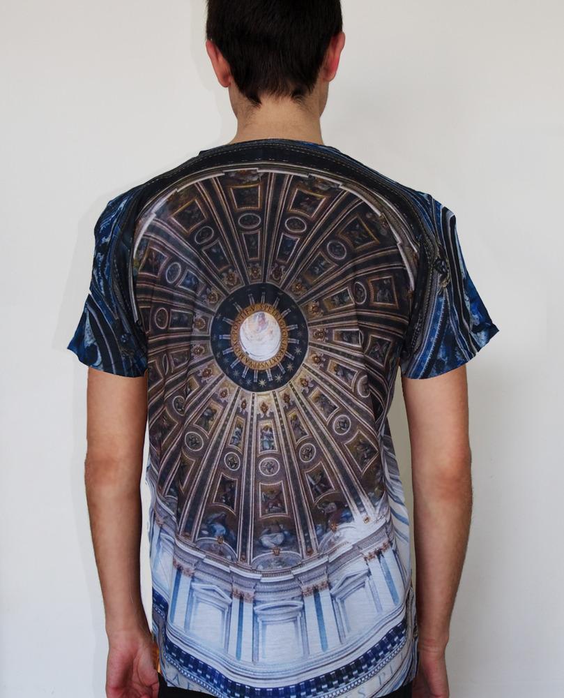 Pray for Paris ceiling t-shirt (all over print)   Pray For Paris