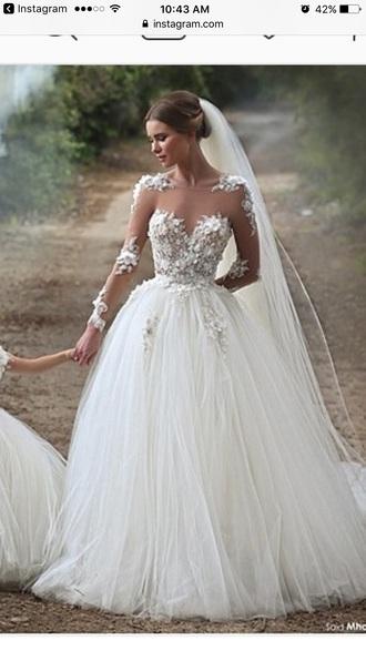 dress white wedding sadekmajed