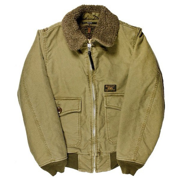 jacket wtaps green jacket military style olive green olive green