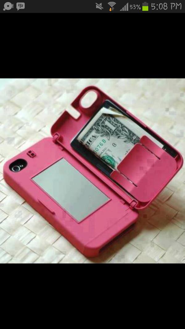 jewels pink phone case