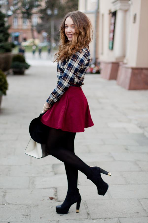kolorowa dusza shirt bag shoes skirt jewels hat