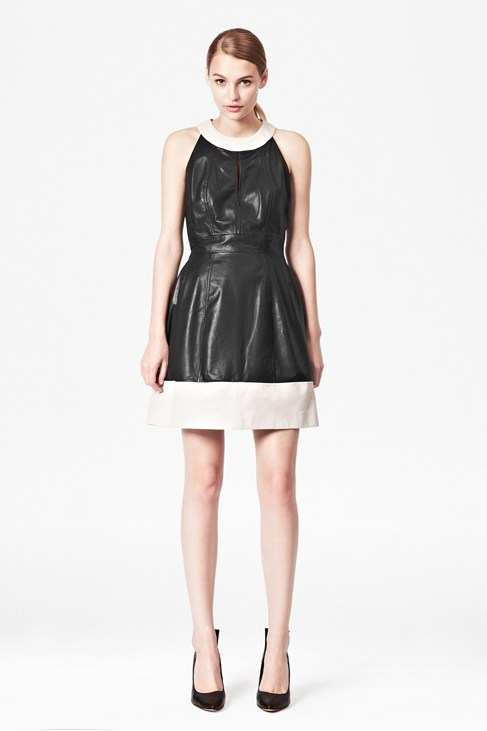 Jive Leather Dress - Dresses - French Connection Usa