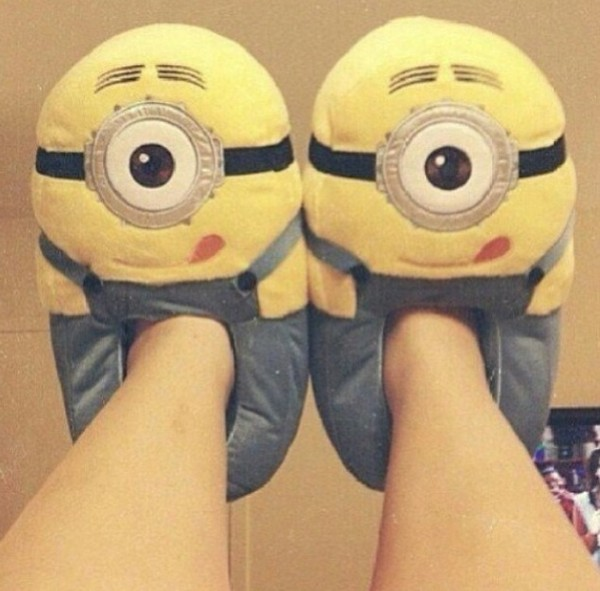 shoes minions bag slippers pajamas