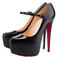 Christian louboutin lady daf 160mm mary jane pumps black outlet, christian louboutin lady daf 160mm mary jane pumps black red bottom shoes