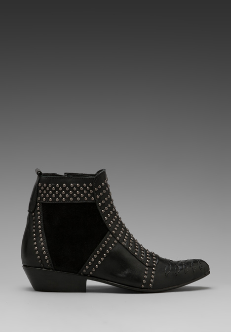 ANINE BING Boots with Studs in Black/Silver at Revolve Clothing - Free Shipping!