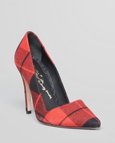 Red Pointed Toe Pumps - ShopStyle