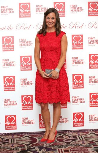 dress lace dress lace pippa middleton red pumps shoes