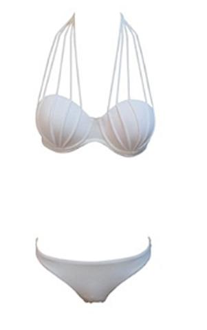 Raw Glitter | Sexy Noel Strappy Push-Up Halter Bikini - More Colors | RawGlitter.com