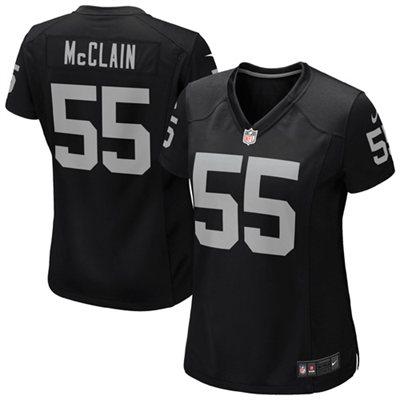 Nike Rolando McClain Oakland Raiders Women's Game Jersey - Black