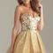 Gold sequin homecoming bodice short bridal prom cocktail party evening dress | ebay