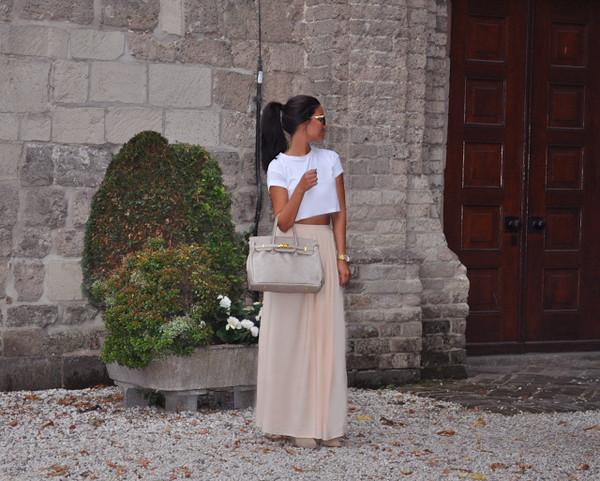 satisfashion t-shirt skirt shoes jewels