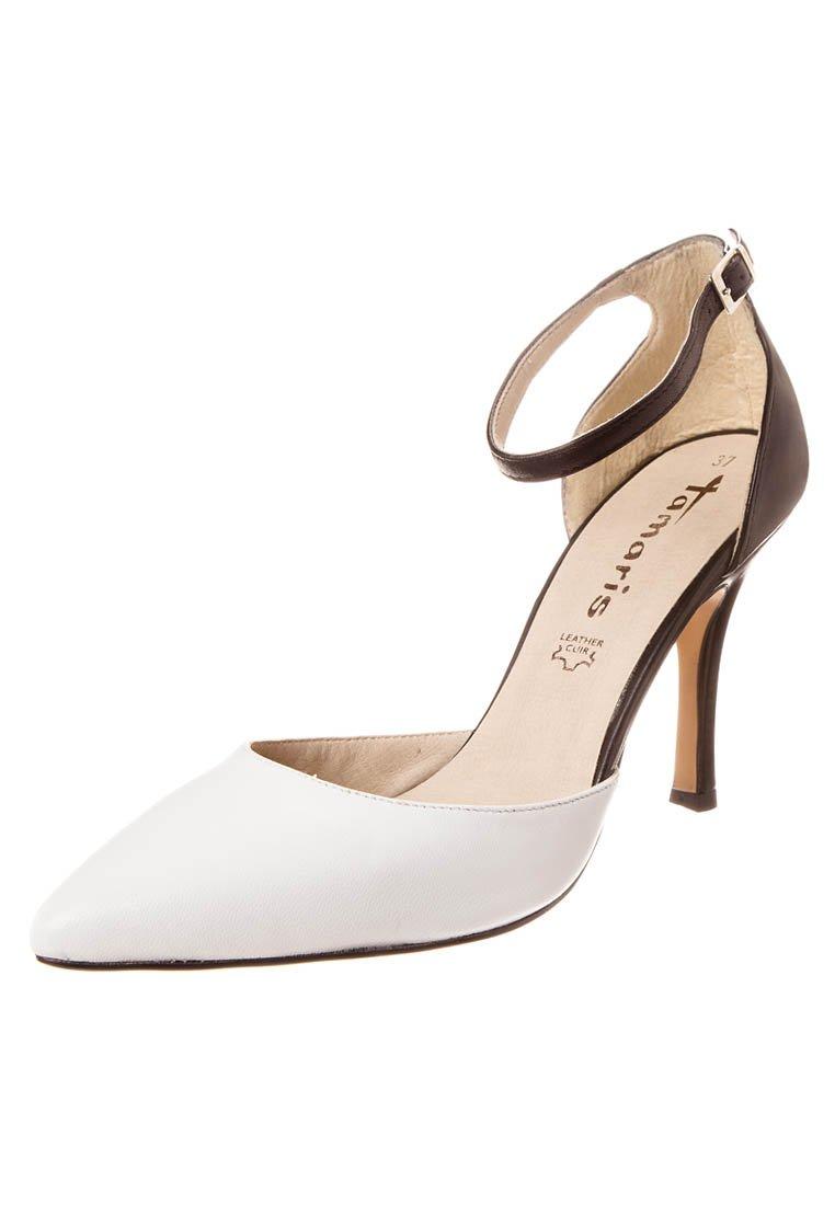 Tamaris High Heel Pumps - black/white - Zalando.de