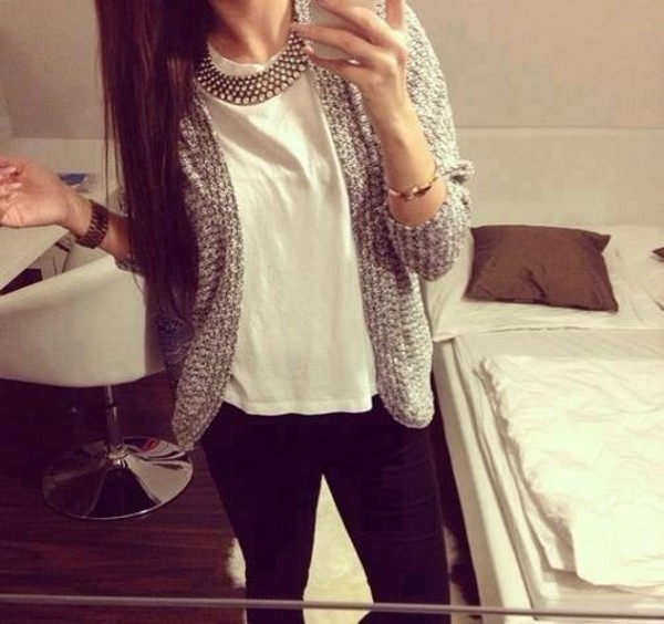 cardigan nice sweet summer top white jeans