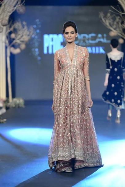 dress desi wedding dress reception designer pakistani dress