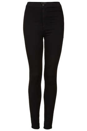 MOTO Black Joni Jeans - Joni Super High Waisted Jeans - Jeans  - Clothing - Topshop