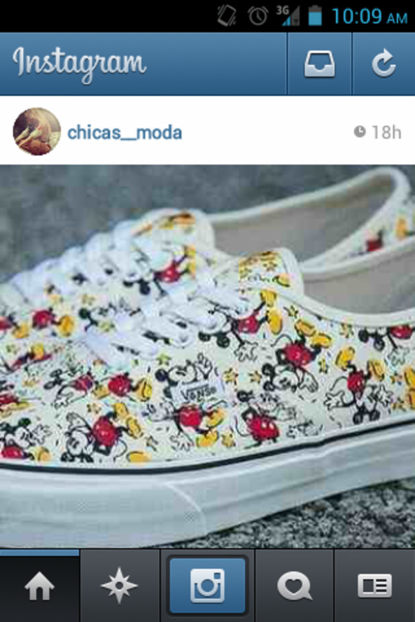 shoes vans mickey mouse