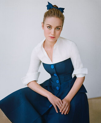 dress vintage vogue belle brie larson beauty and the beast