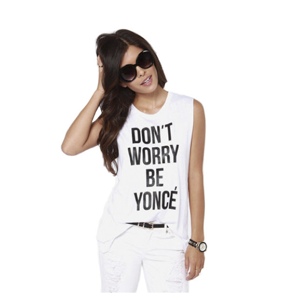 DON'T WORRY BE YONCE TEE / back order – HolyPink