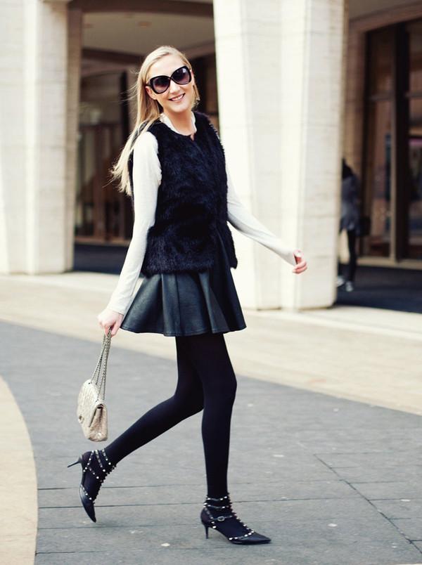 carly cristman skirt jacket shoes sunglasses pants bag t-shirt