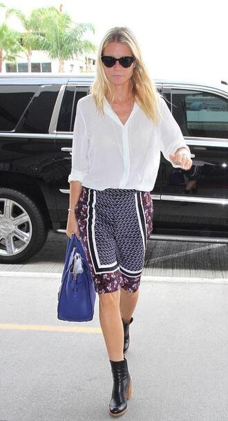shorts gwyneth paltrow blouse pattern