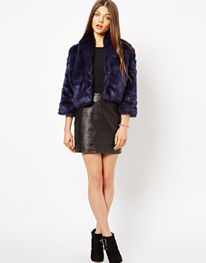 Jarlo | Jarlo Pam Faux Fur Jacket at ASOS