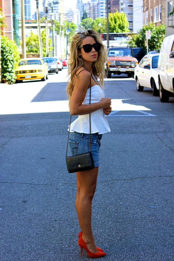 a fashion love affair top jewels bag shoes jeans