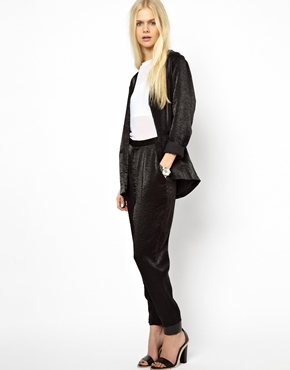 Just Female | Just Female Shiny Trousers at ASOS