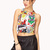 Comic Strip Chic Crop Top | Shop All | Clothing | Tops | Women - 2000127544 | Forever 21 EU