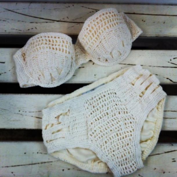bikini summer swimwear crochet