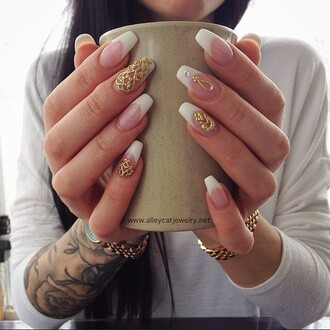 nail accessories nail jewelry nail fashion fashion fashion nails handmade jewelry nail art gold gold nails gold jewelry nail charms nail veils nail adornment nail covers french tips french tip nails alleycat jewelry custom nails nail armour authentics nail inspiration